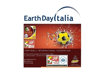Jorkyball all'Earth Day di Roma, 21-25 aprile